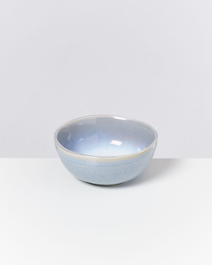 Alcachofra Müslischale hellblau