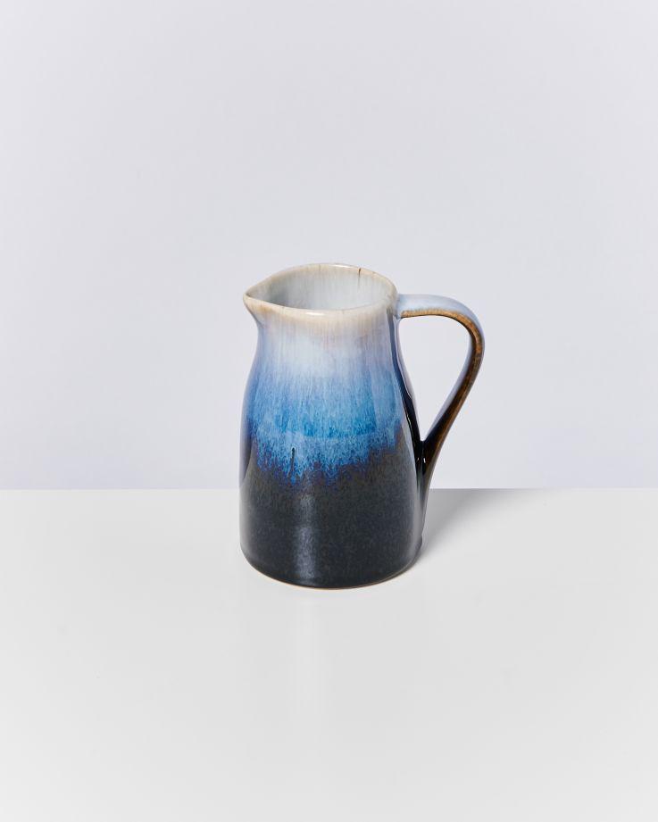 Alcachofra Milchkanne schwarz