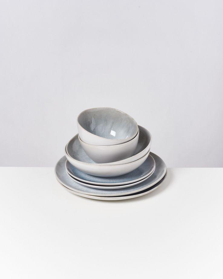 AREIA grey - Set of 8 pieces