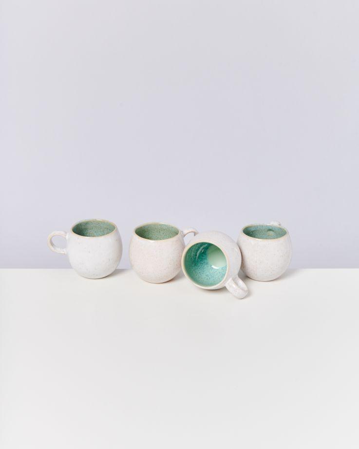 Areia 4er Set Tasse klein mint