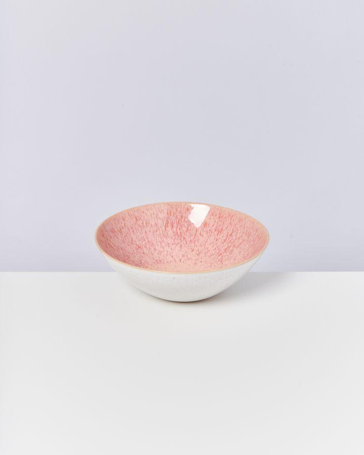 Areia Servierschale klein flach pink