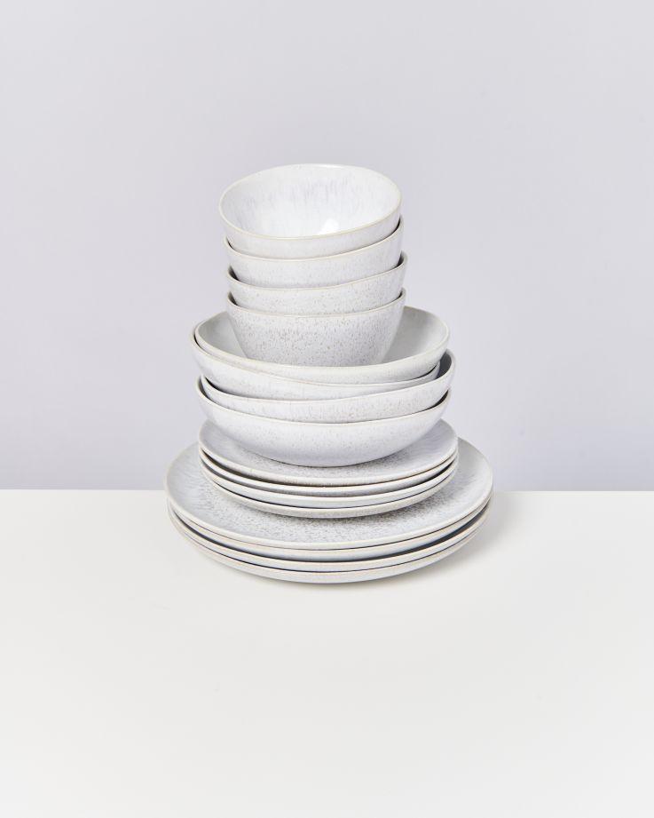 Areia weiß - 16 teiliges Set