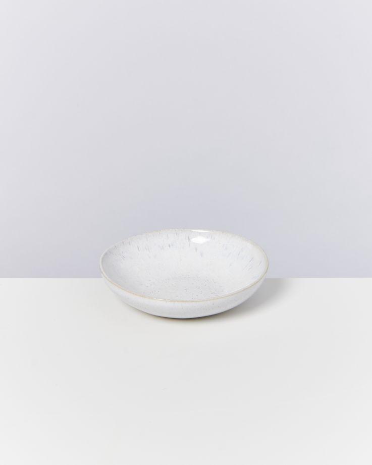 Areia Miniteller tief weiß