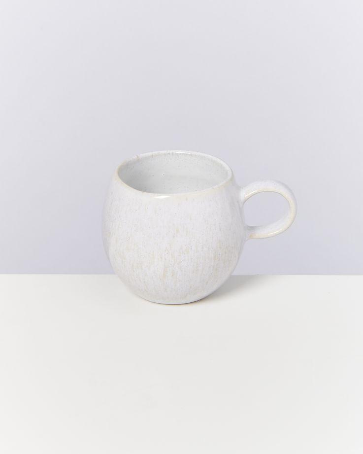 Areia Tasse klein weiß