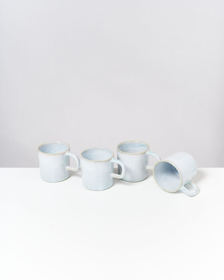 Cordoama 4er Set Tasse groß azur