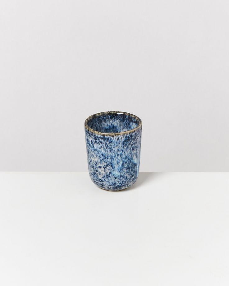 Cordoama Espressobecher blau gesprenkelt