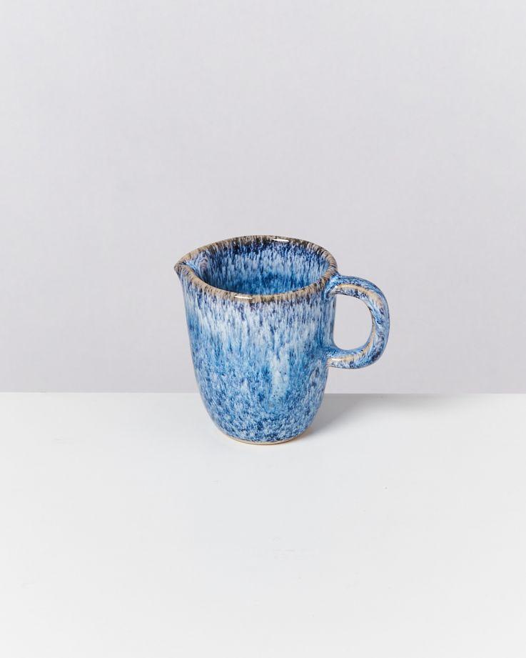 CORDOAMA - Milk Jug blue speckled