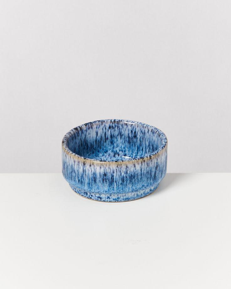 Cordoama Saucenschälchen 9 cm blau gesprenkelt