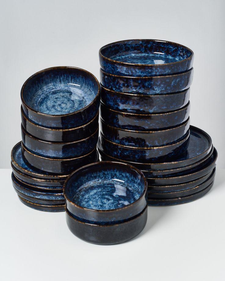 Cordoama dunkelblau - 24 teiliges Set