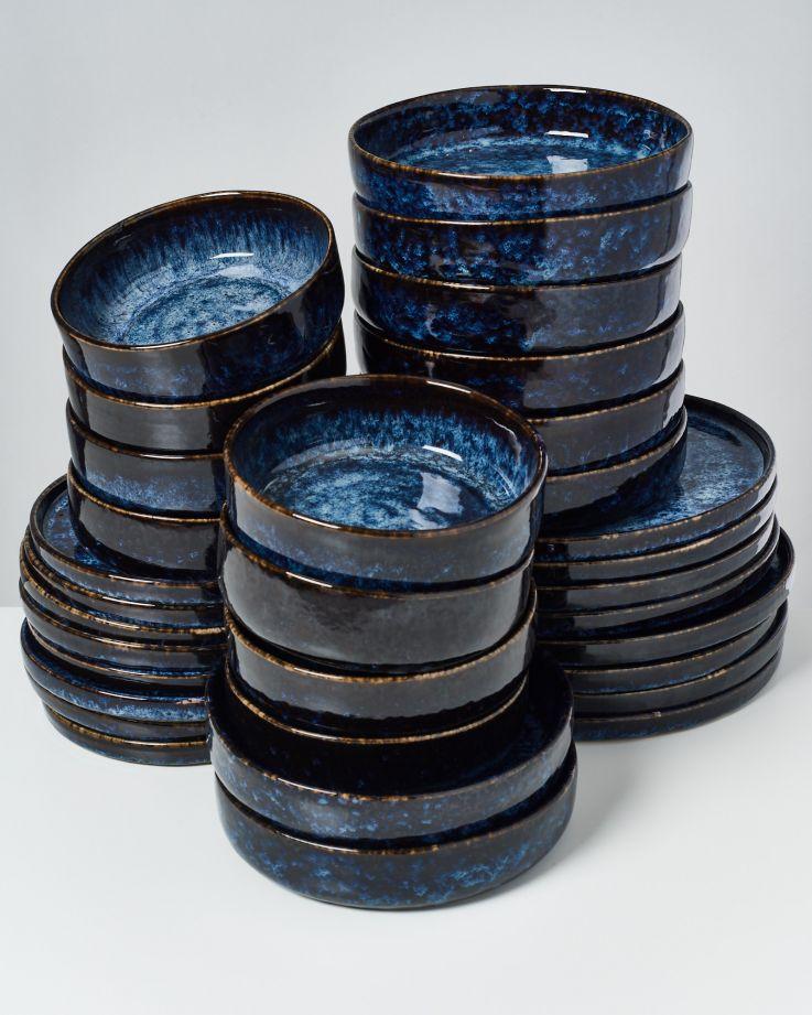 Cordoama dunkelblau - 32 teiliges Set