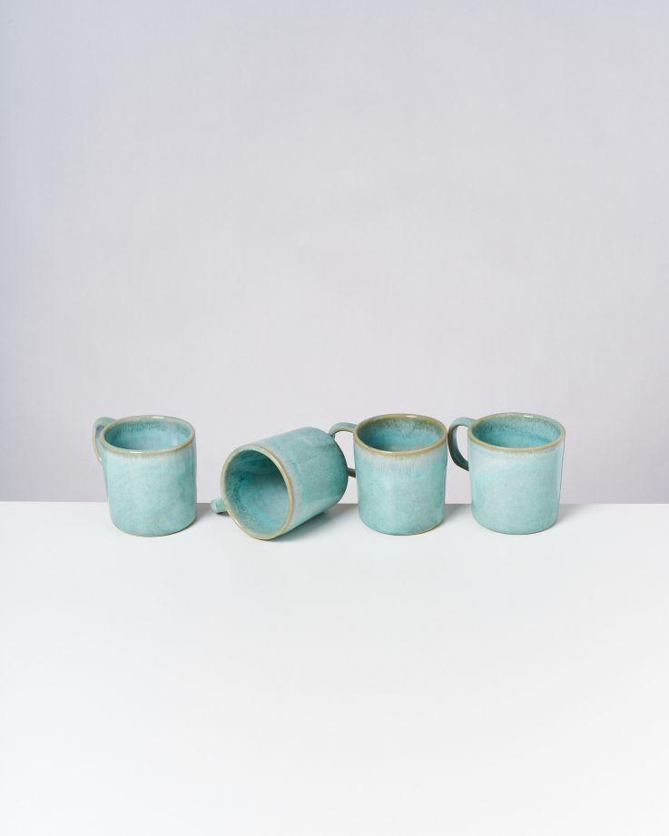 Cordoama 4er Set Tasse groß mint