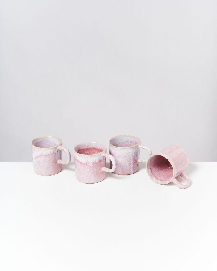 Cordoama 4er Set Tasse groß rosé