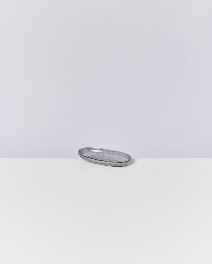 Mae Servierplatte S grau