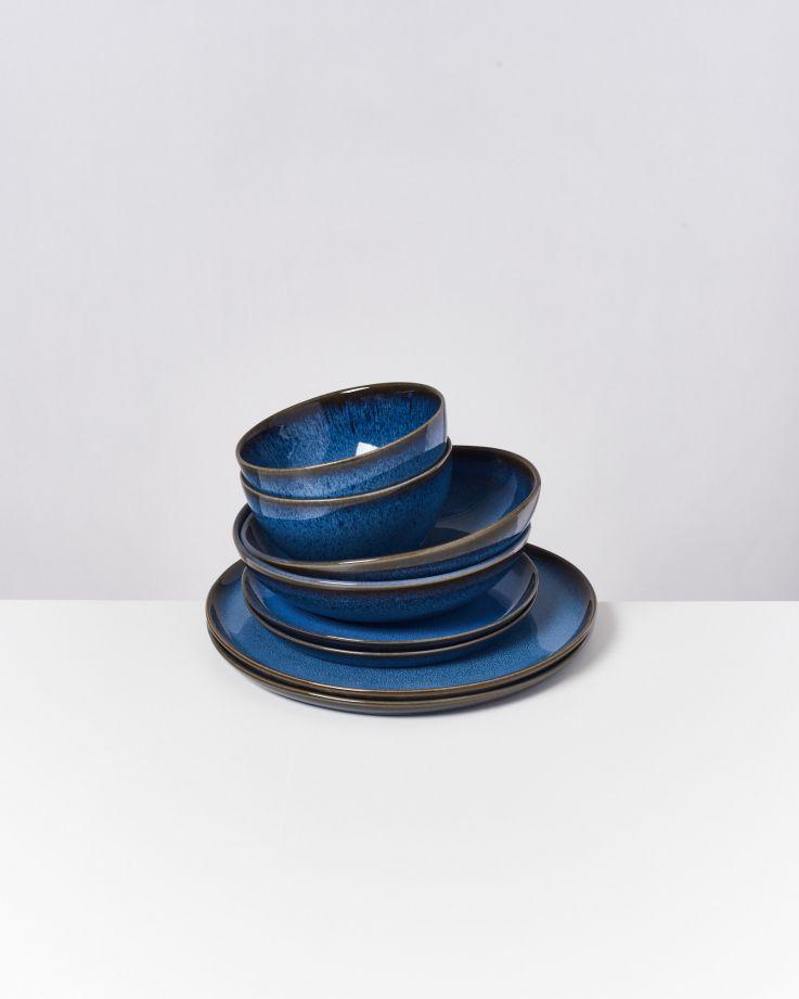 Melides blue - 8 teiliges Set
