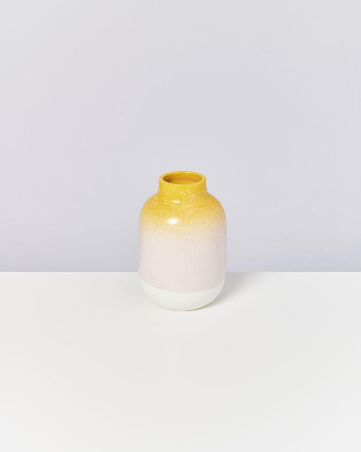 Nuno M gelb rosa gesprenkelt