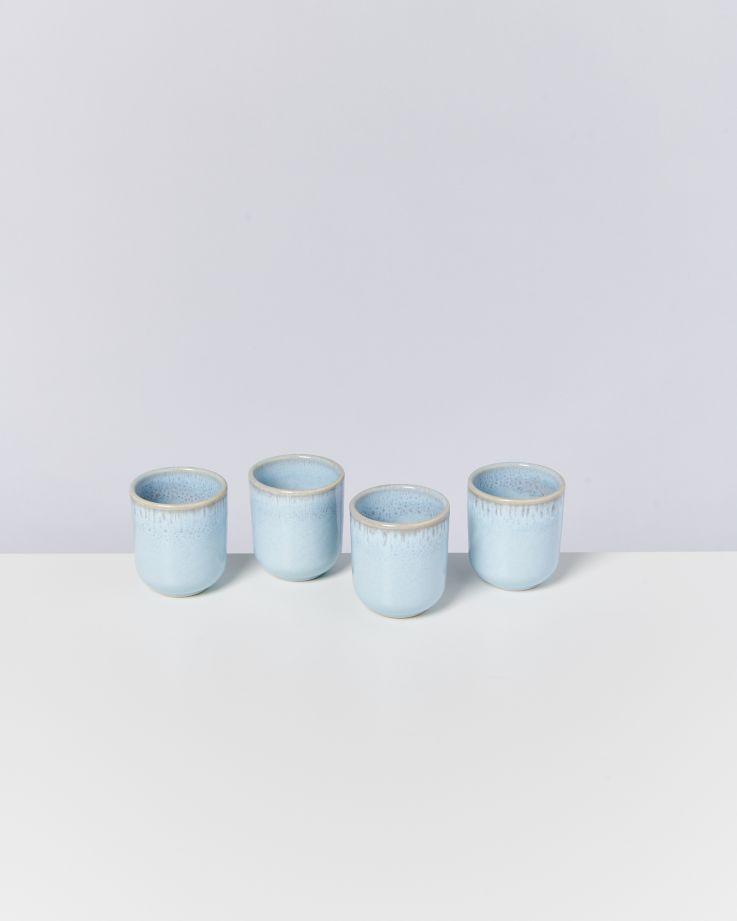 Pingo 4er Set Becher klein lavender