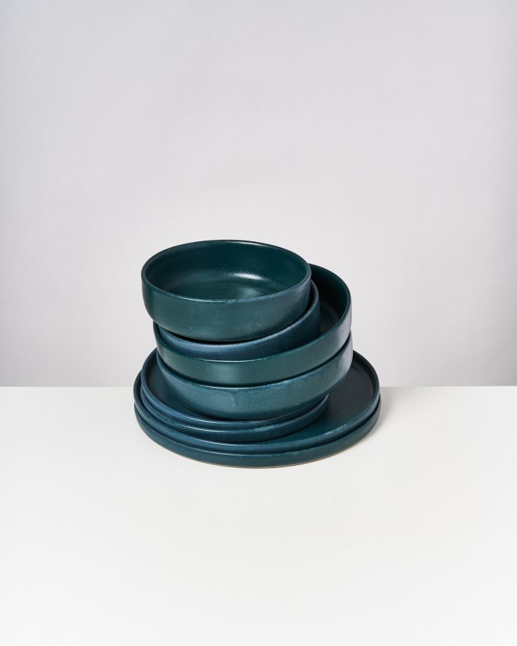 Tavira grün - 8 teiliges Set