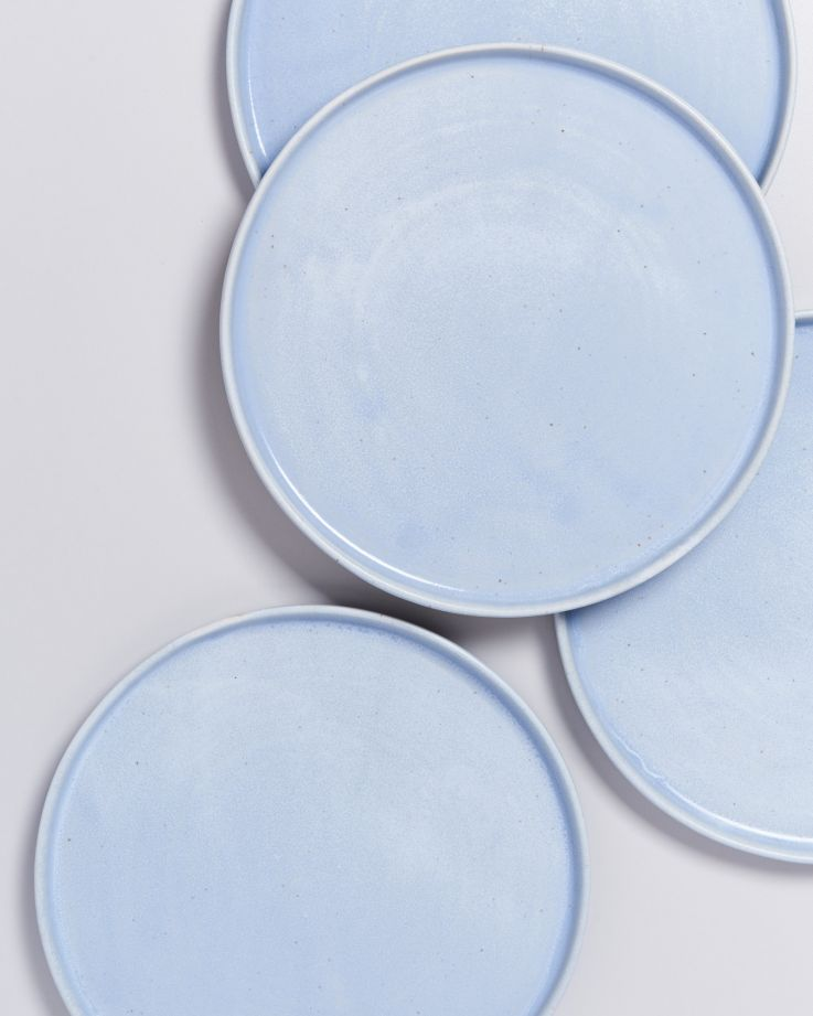 Tavira Teller groß pastellblau