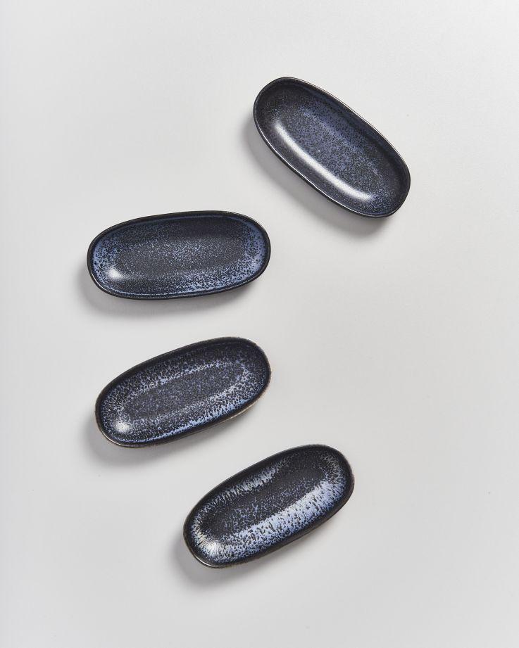 Turmalina Servierplatte S schwarz