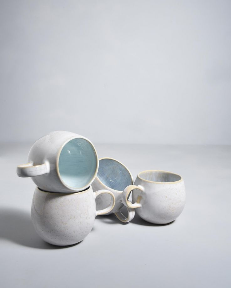 Areia 4er Set Tasse azur