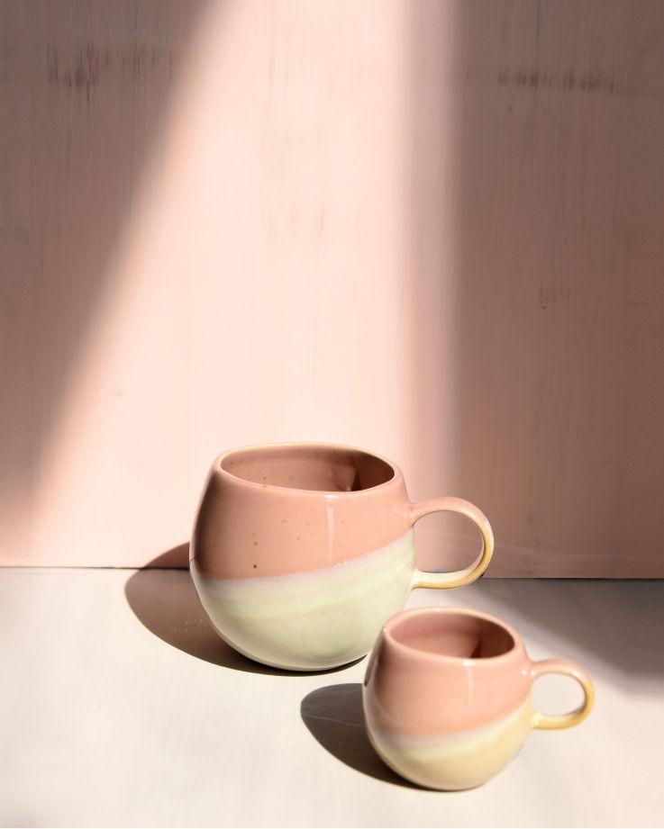 Bica Tasse pink cream