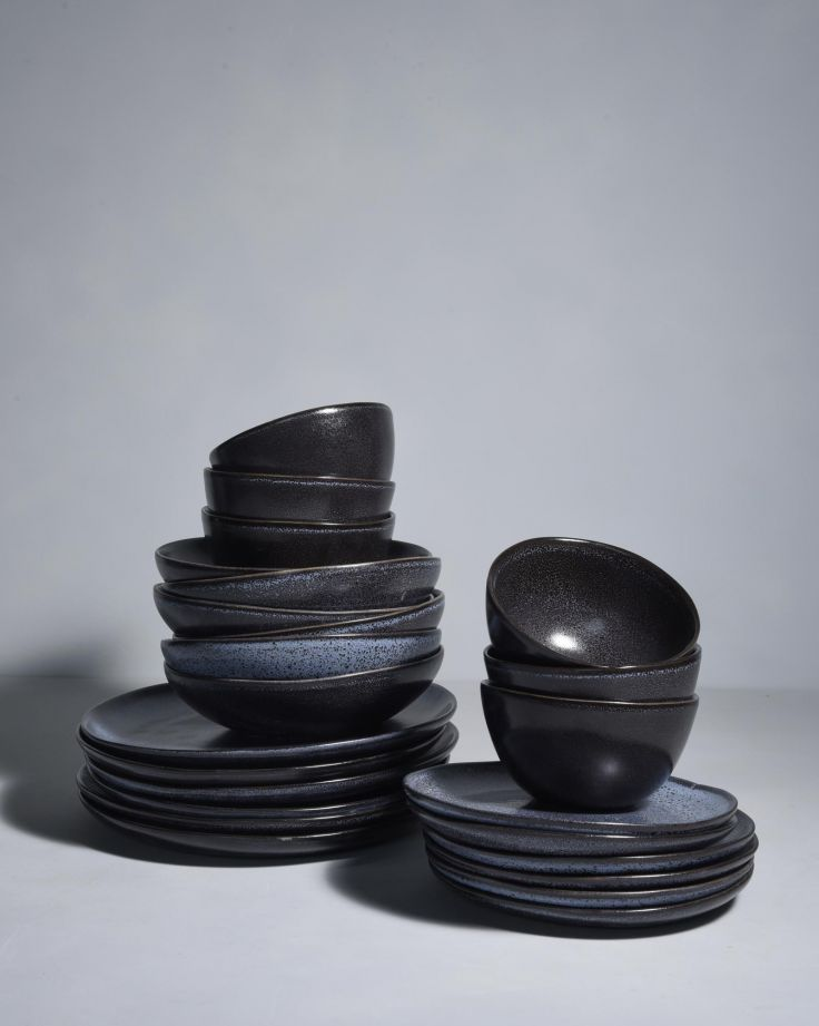 Turmalina schwarz - 24 teiliges Set