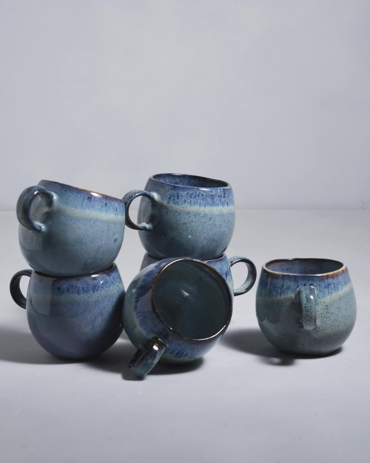Madeira 6er Set Tasse groß