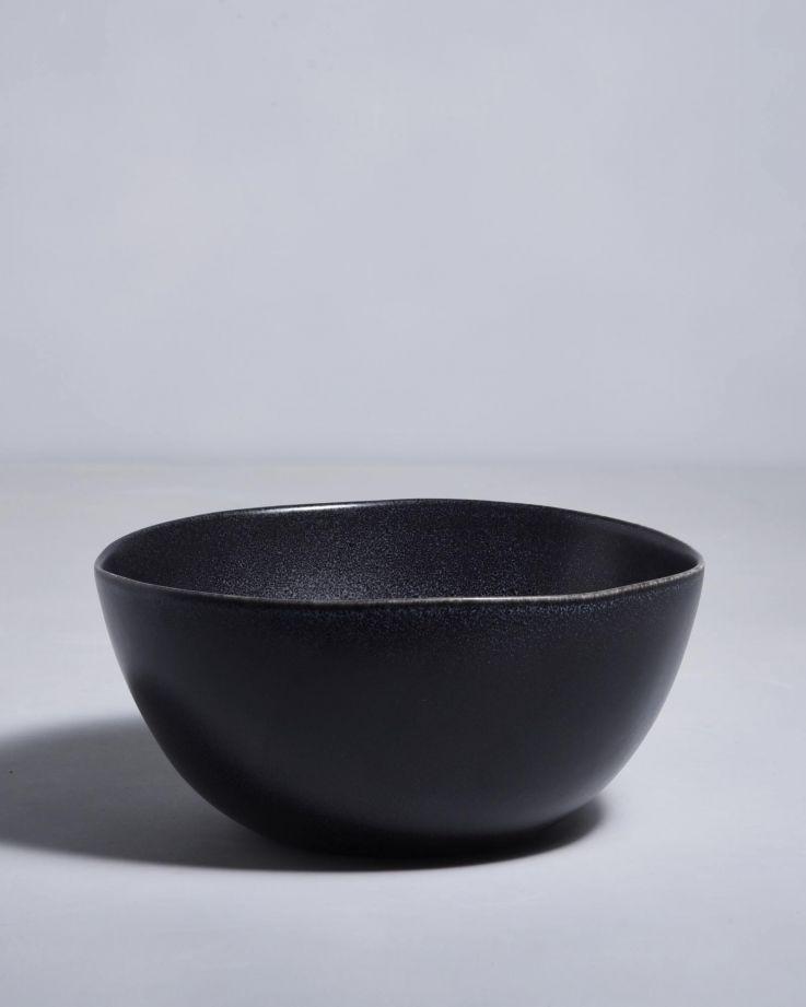 Turmalina Servierschale schwarz