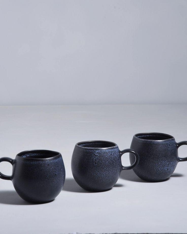 Turmalina Tasse klein schwarz