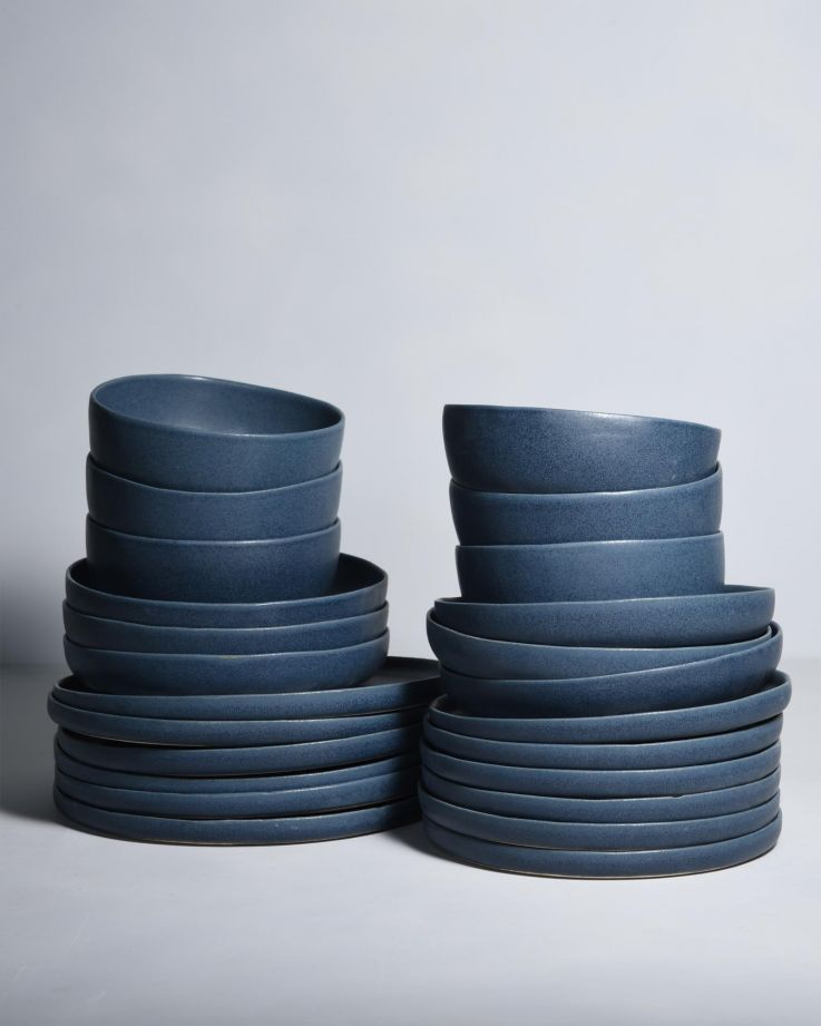Macio 6er Set blau