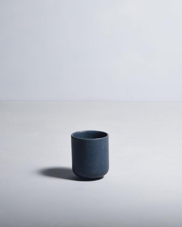 Macio Becher klein blau