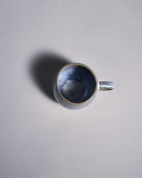 Frio Tasse blau weiss 2