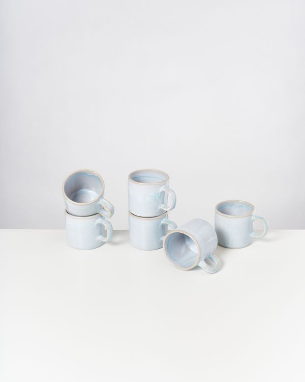CORDOAMA - Set of 6 Mugs small azure 2