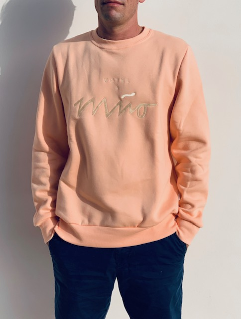 Boys Sweatshirt Peach 2