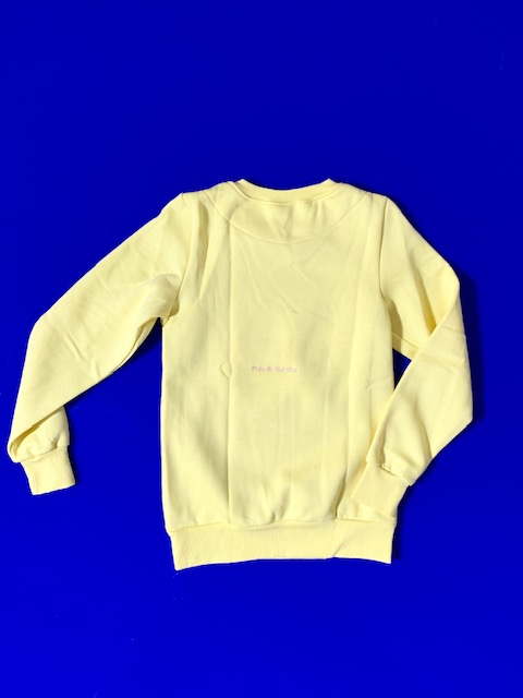 Girls Sweatshirt Lemon 2