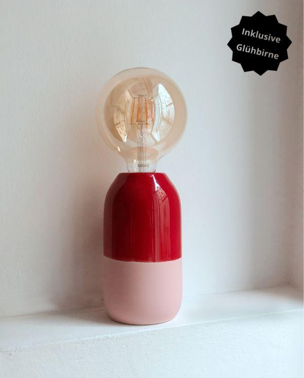 Farol - Lampe Red Rose 2