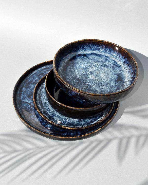 Cordoama Teller klein dunkelblau 2