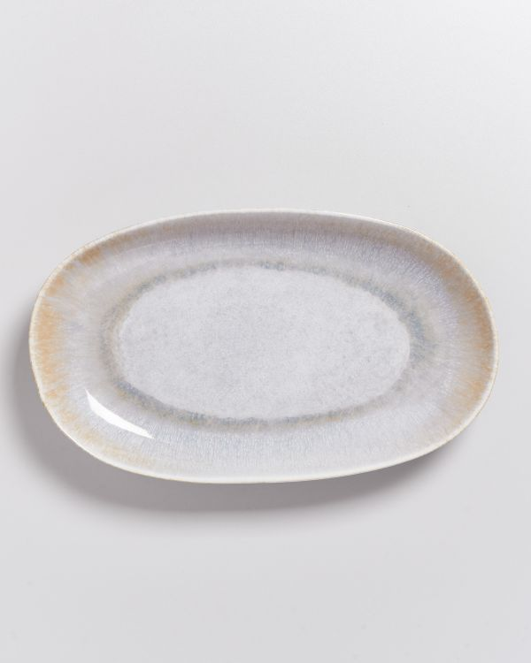 ALCACHOFRA - Serving Platter L greyblue 2