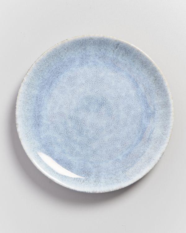 Alcachofra Teller groß graublau 2