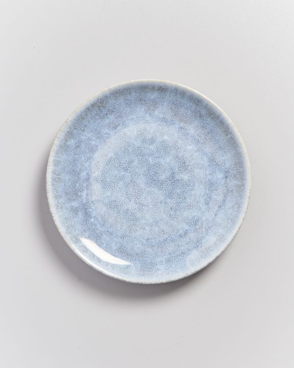 ALCACHOFRA - plate small greyblue 2