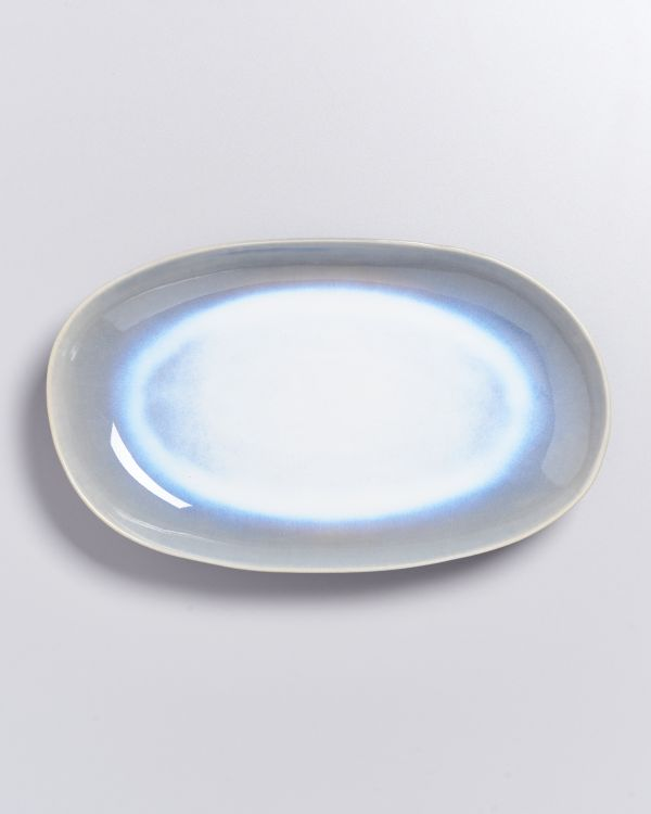 ALCACHOFRA - Serving Platter L lightblue 2