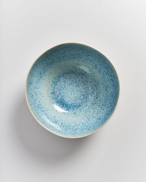 AREIA - Servingbowl aqua 2