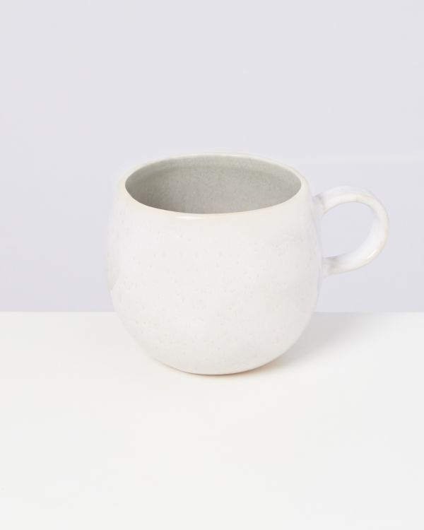 Areia 4er Set Tasse groß grau 2