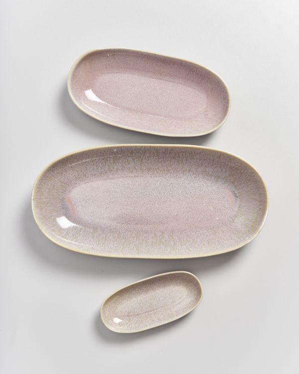 AREIA - Serving Platter M mauve 2
