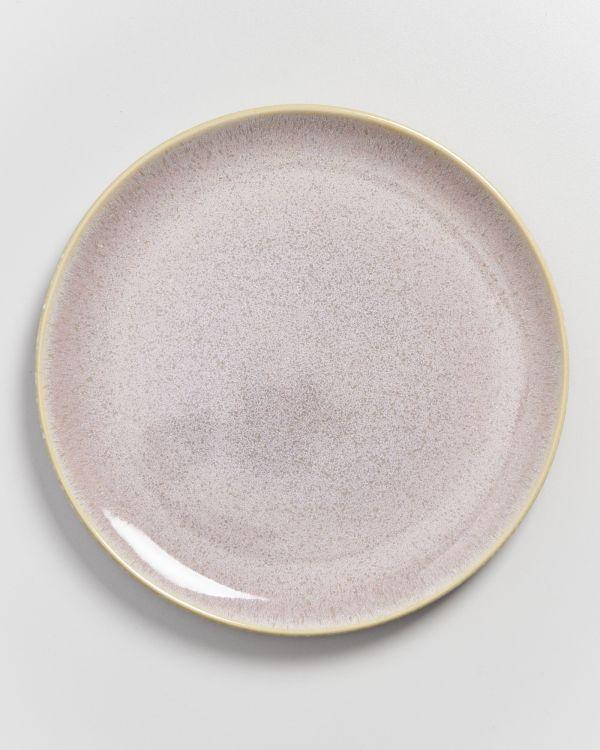 AREIA - Plate large mauve 2