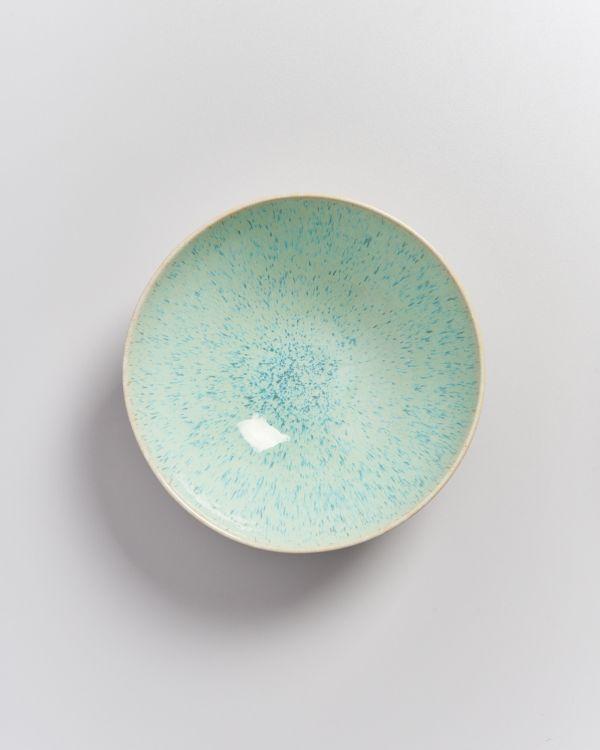 AREIA - Servingbowl flat small mint 2