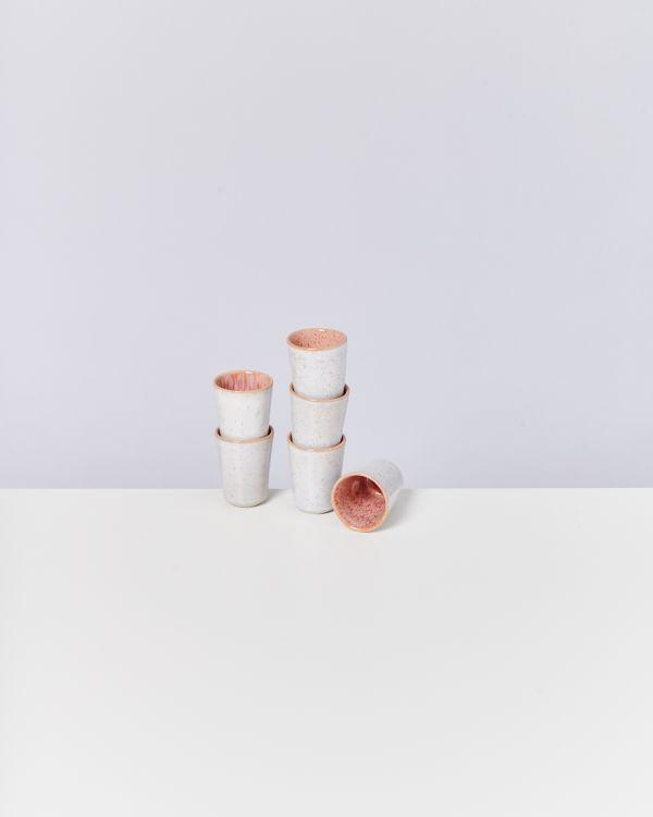Areia Espressobecher pink 2