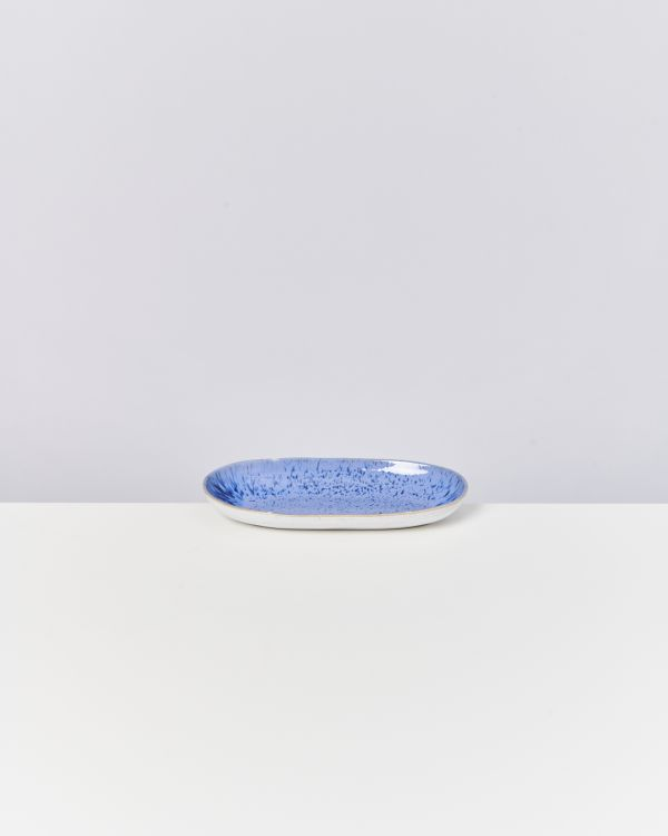 AREIA - Serving Platter M royal blue 2
