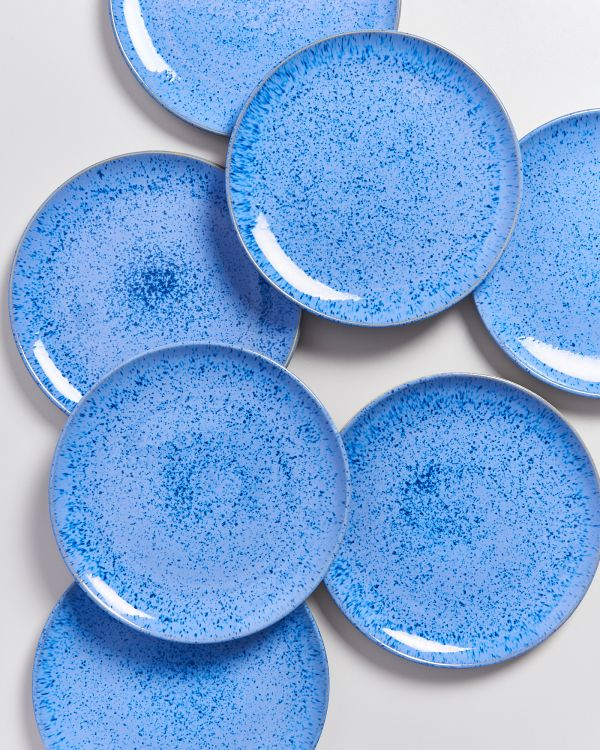 AREIA - Plate small royal blue 2