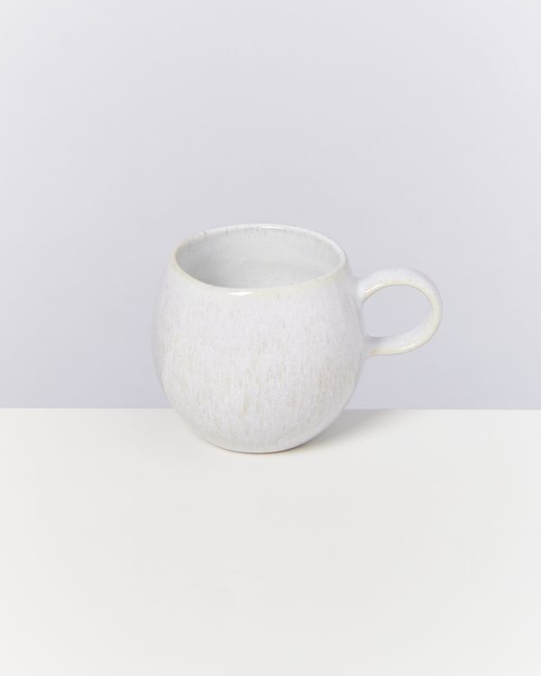 AREIA - Set of 4 Cups small white 2